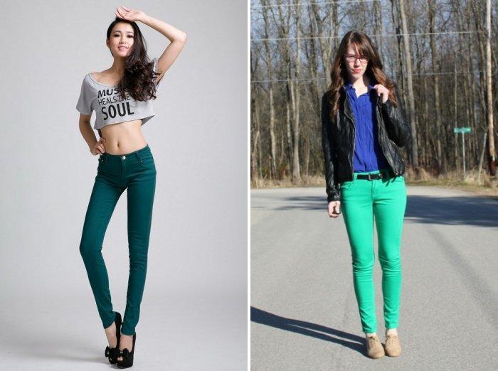 Мода на зеленый цвет