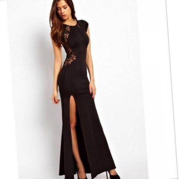 Модель платья в пол