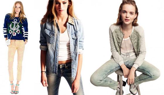 Модная одежда для девочек подростков