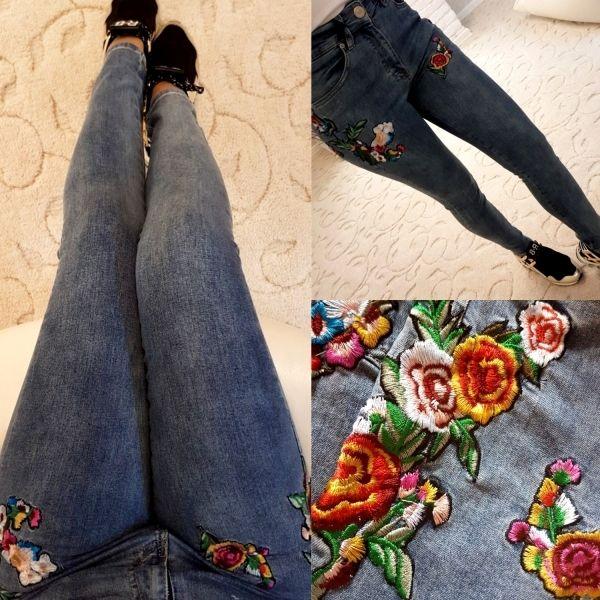 Модная вышивка на одежде MAVI