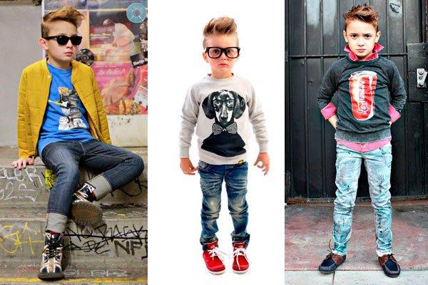 Модные джинсы для мальчиков