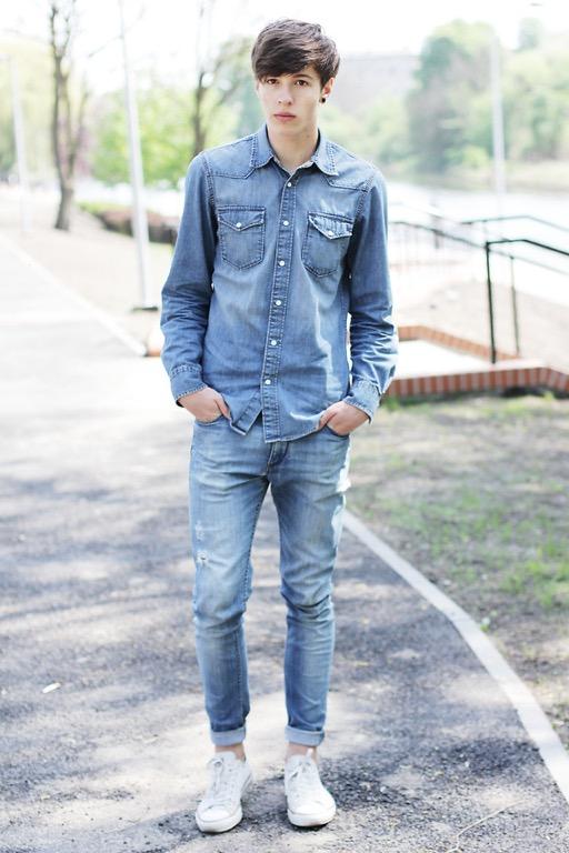 Модные джинсы для парней