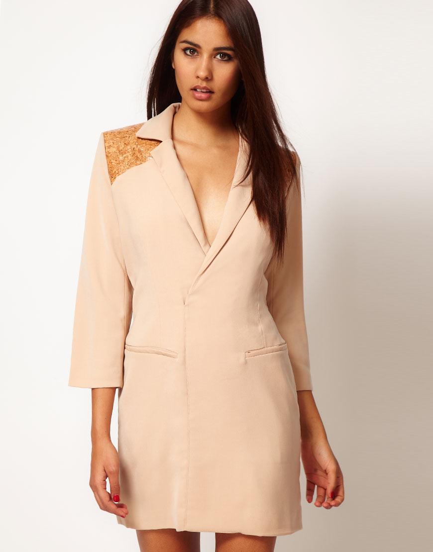 Модные платье пиджак весна-лето