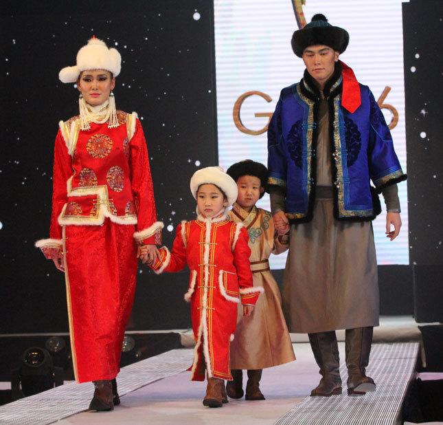 Монгольская мода