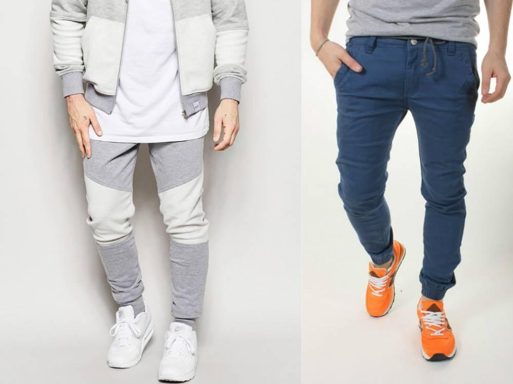 Мужские брюки-джоггеры