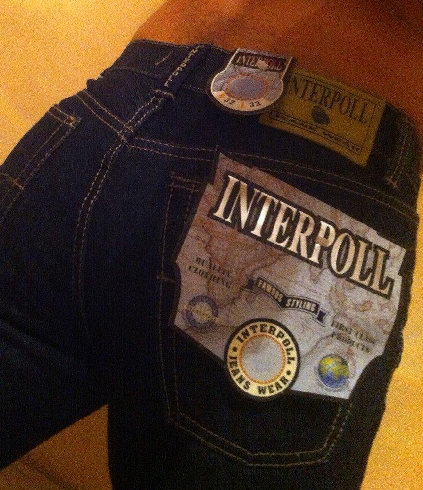 Мужские джинсы Interpol