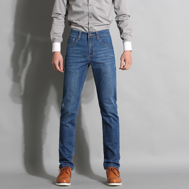 Мужские классические джинсы