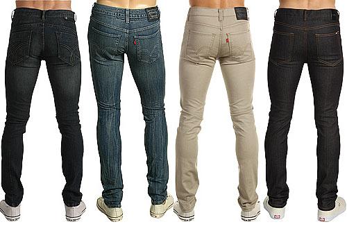 Мужские узкие штаны