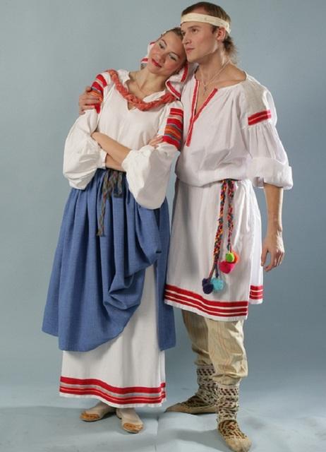 Народное одеяние Белоруси