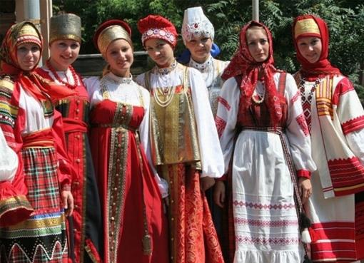 Национальная одежда России