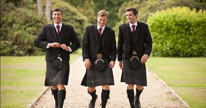 Национальные одежда в Шотландии