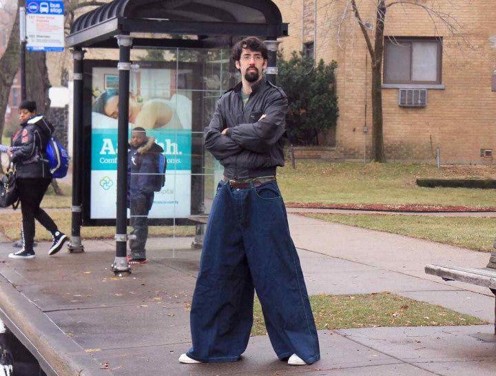 Необычные брюки
