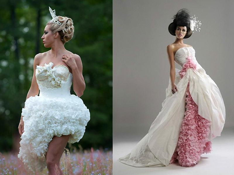 Необычные свадебные платья - выбор креативных невест