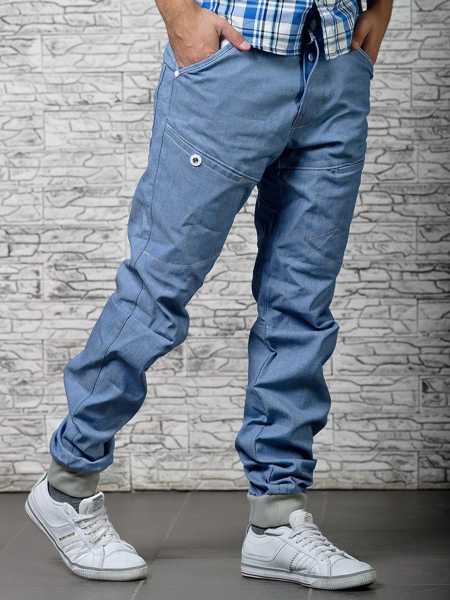 Необычный фасон мужских джинсов