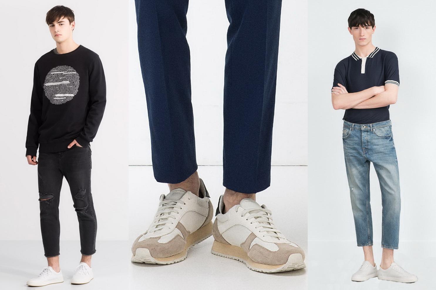Нестандартные мужские джинсы