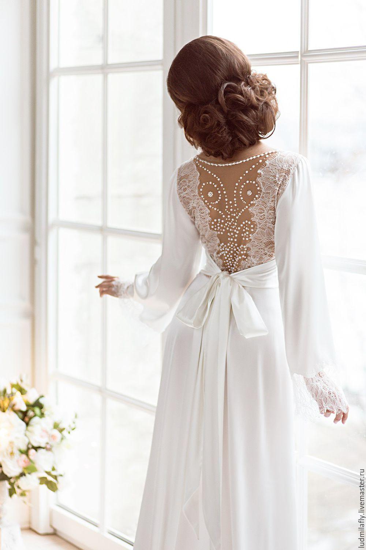 Нежный белый наряд