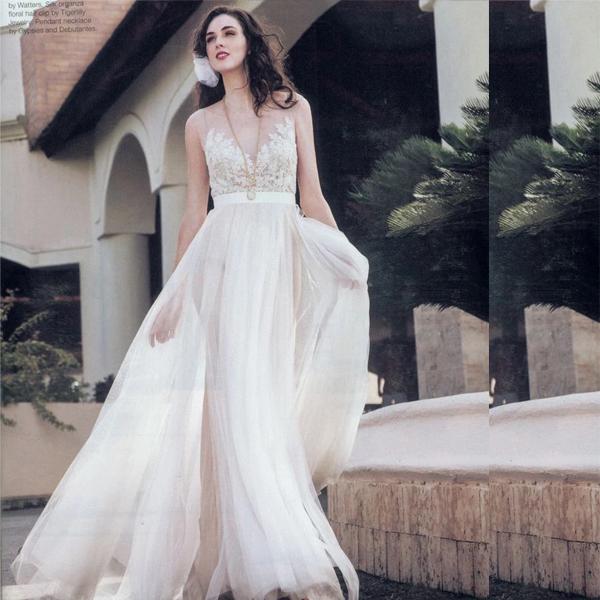Нежный и красивый образ невесты