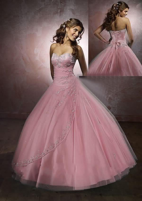 Нежный розовый цвет одежды