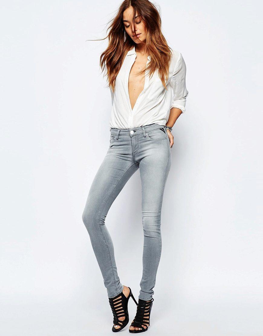 Облегающие модели джинсов