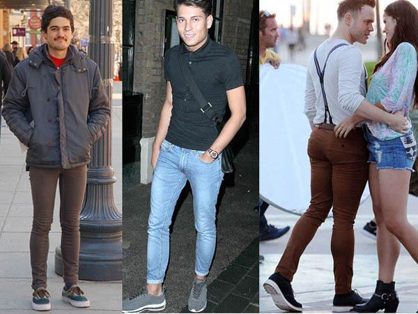 Облегающий крой одежды для мужчины