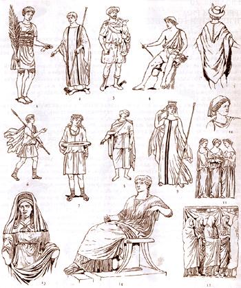 Одежда горожан