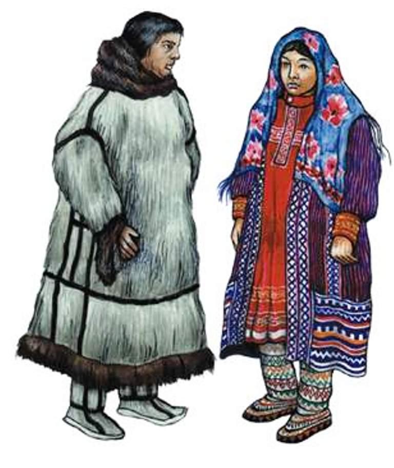 Одежда хантов и манси