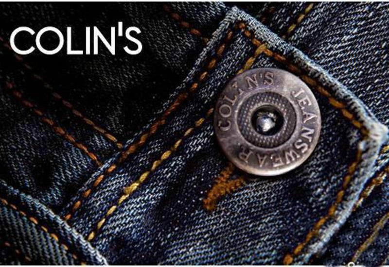 Одежда от бренда Colin's