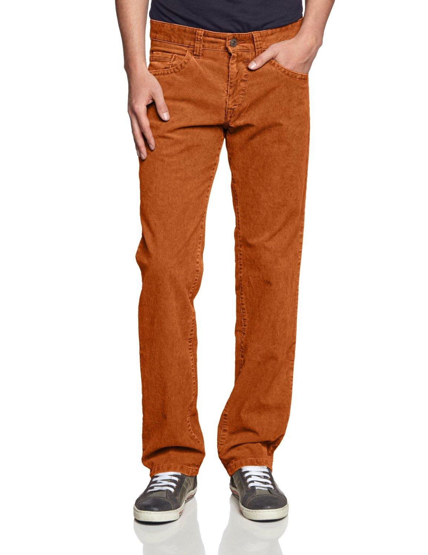 Оранжевый деним для мужчины