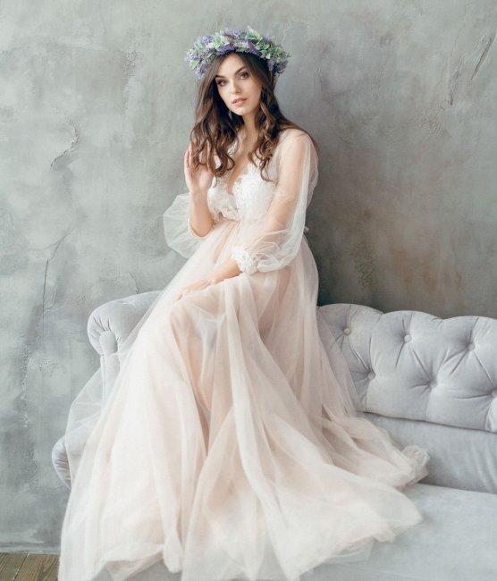 Оригинальное платье для невесты