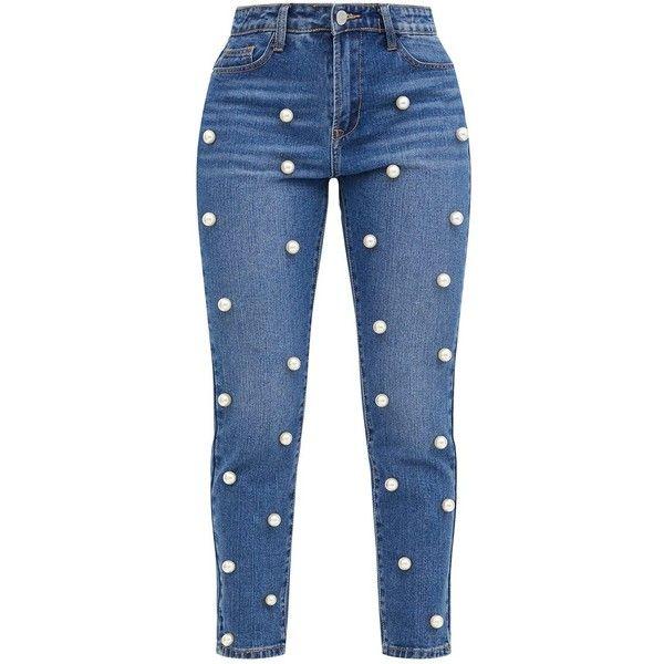 Оригинальные джинсы для девушки