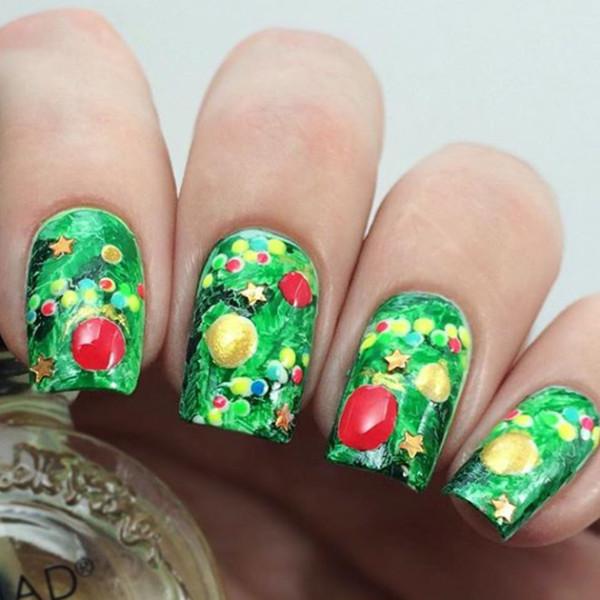 Оригинальный декор ногтей