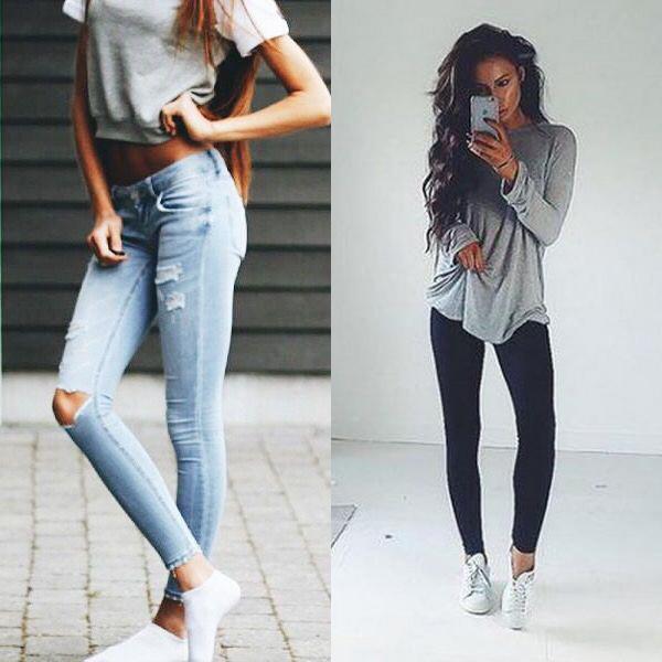 Осенние джинсы 2018 года