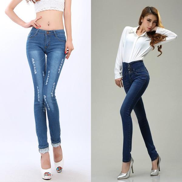 Особенности узких джинсов