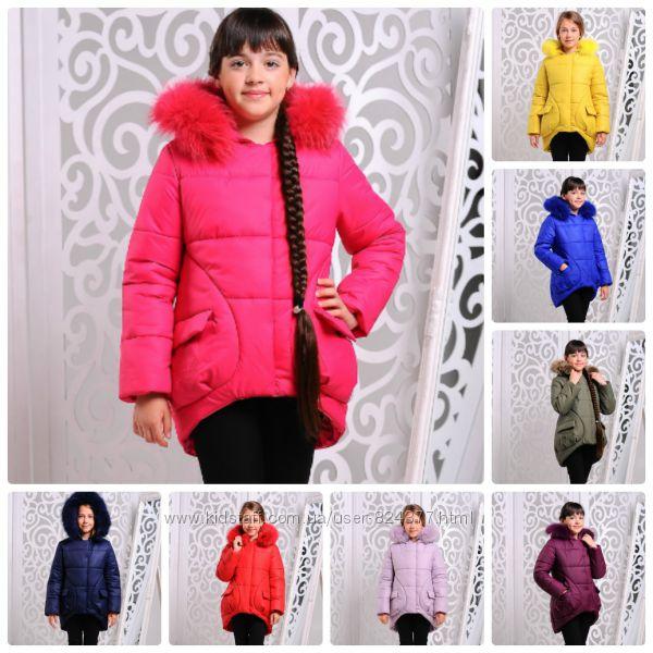 Оттенки куртки для девочки