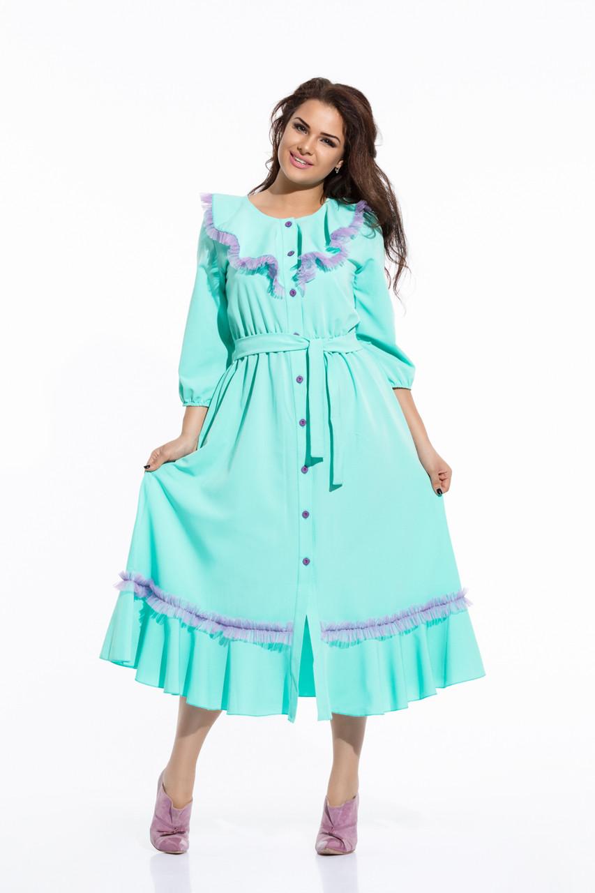 Оттенок одежды бирюза