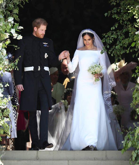 Первое свадебное платье Меган Маркл