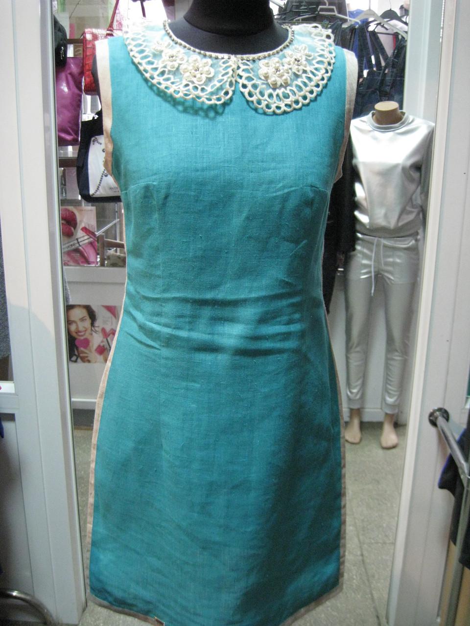 Платье из натурального белорусского льна