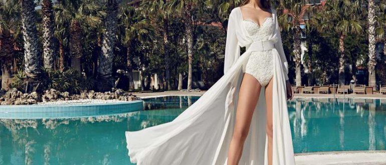 Платье купальник