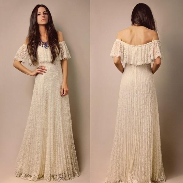Платье на основе льна