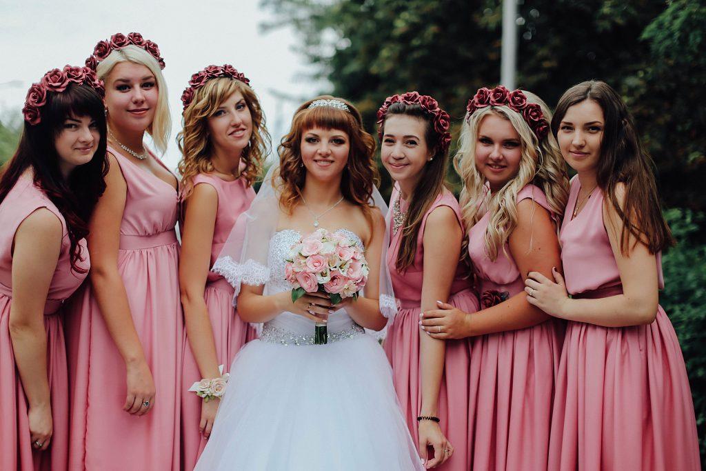 Платье на свадьбу для подружки невесты
