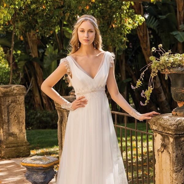 Платье на свадьбу в стиле прованс