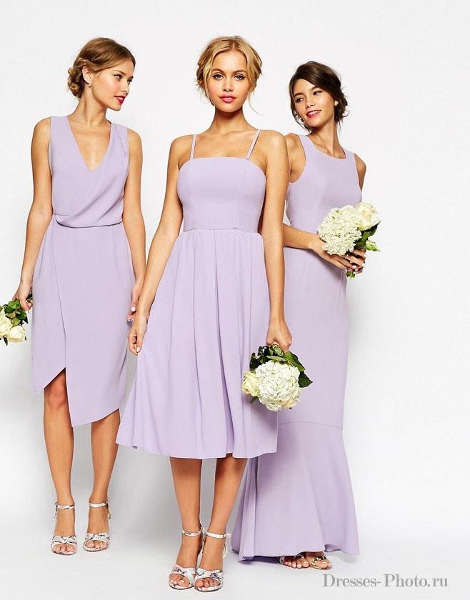 Платье на свадебный вечер
