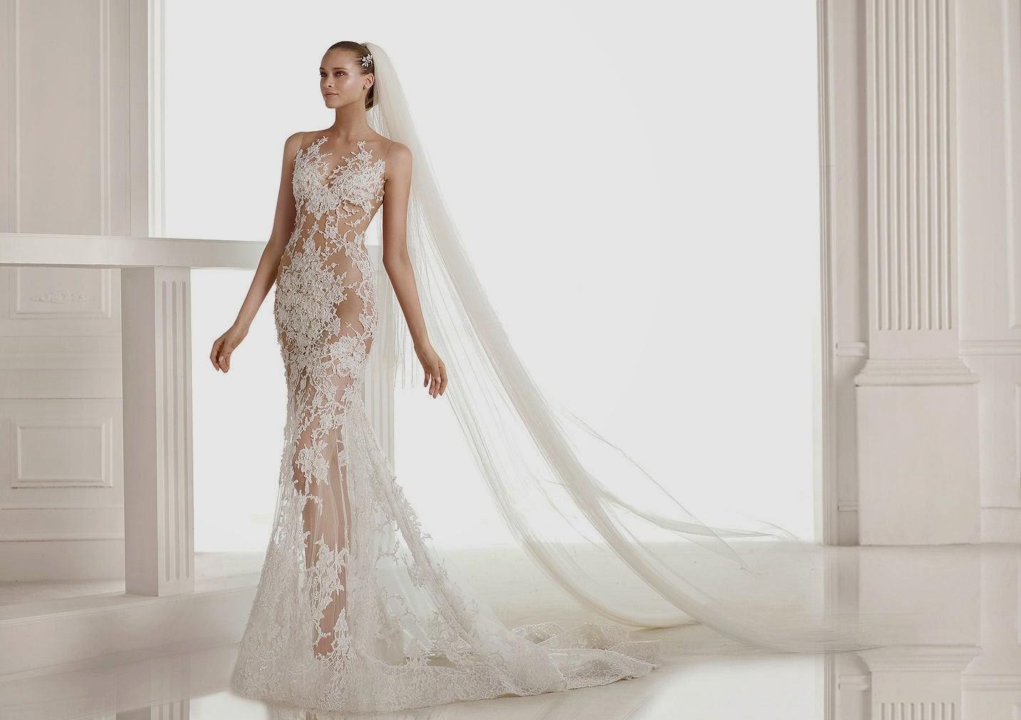 Платье с фатой