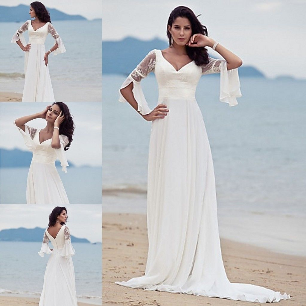 Платье с рукавами