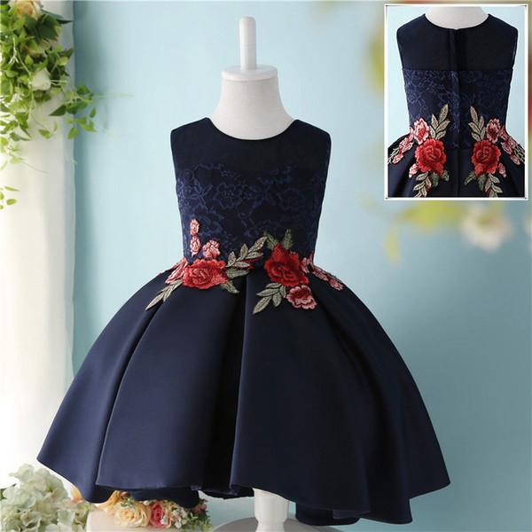 Платье с вышивкой для вечера