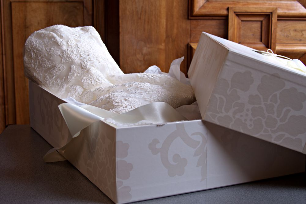 Платье в коробке