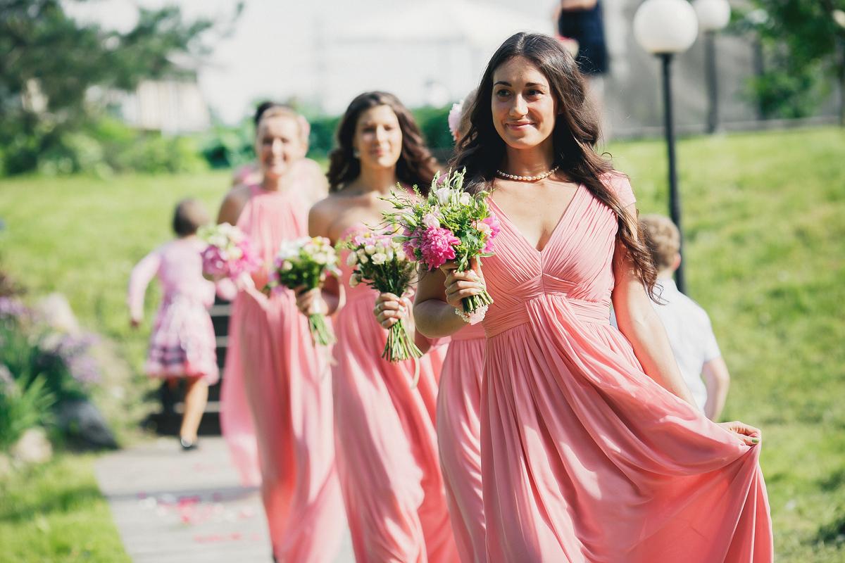 Подружки невесты, выбор наряда
