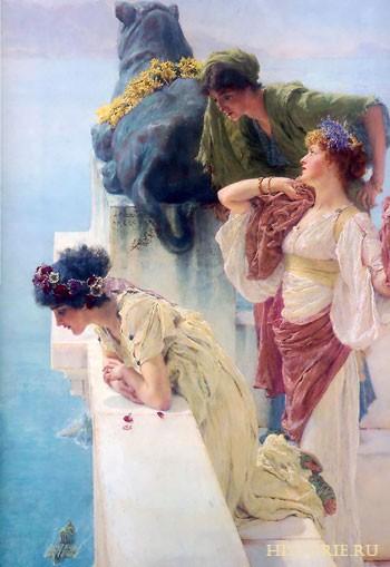 Поначалу большое влияние на крой и стилистику древнеримской одежды