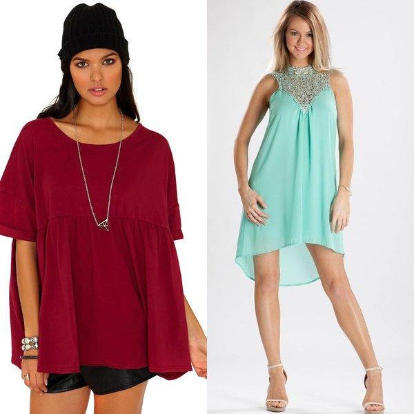 Популярные фасоны одежды