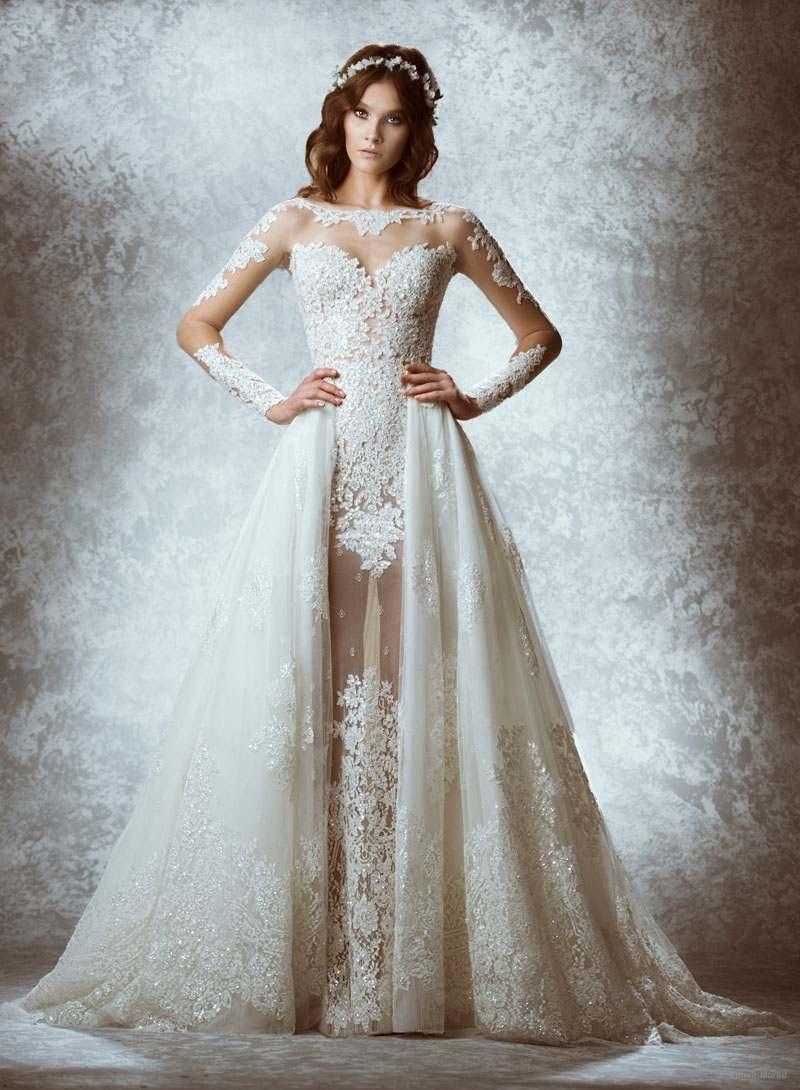 Потрясающе красивые свадебные платья